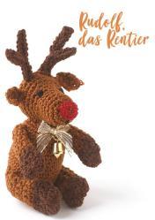 Häkelanleitung - Rudolf, das Rentier - Simply Häkeln kompakt Weihnachtsdeko 01/2021