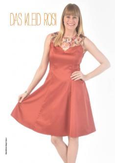 Nähanleitung - Das Kleid Rosi - Simply Nähen Extra Kleider nähen lernen 01/2021