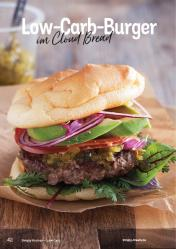 Rezept - Low-Carb-Burger mit Cloud Bread - Simply Kochen Kompakt Low Carb 01/2021
