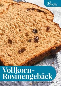 Rezept - Vollkorn-Rosinengebäck - Simply Backen kompakt Vollkorn – 01/2021