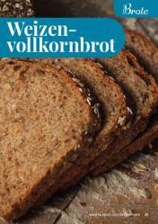 Rezept - Weizenvollkornbrot - Simply Backen kompakt Vollkorn – 01/2021