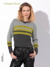 Strickanleitung - College-Pullover - Best of Designer Knitting 02/2021
