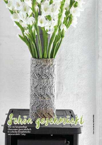 Strickanleitung - Schön geschmückt - Simply Stricken Special Lana Grossa Beileger 01/2020