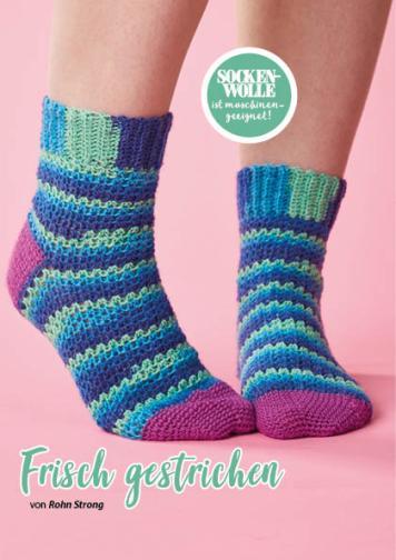 Häkelanleitung - Frisch gestrichen - Simply Häkeln Kompakt Sonderheft Socken 01/2021