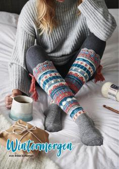 Häkelanleitung - Wintermorgen - Simply Häkeln Kompakt Sonderheft Socken 01/2021