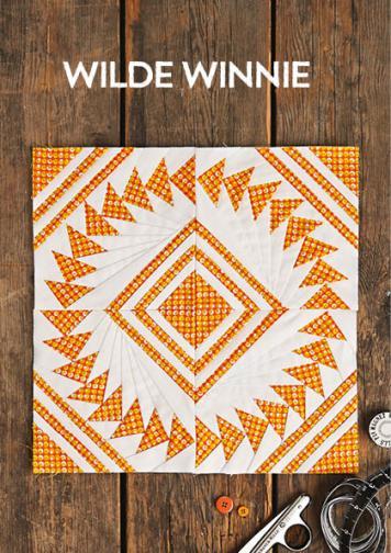 Nähanleitung - Wilde Winnie - Simply Nähen kompakt Patchwork 02/2021
