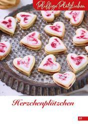 Rezept - Herzchenplätzchen - Simply Backen Kekse 04/2020