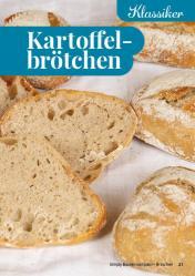 Rezept - Kartoffelbrötchen - Simply Backen Kompakt Brötchen 02/2021