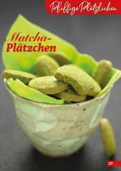 Rezept - Matcha-Plätzchen - Simply Backen Kekse 04/2020