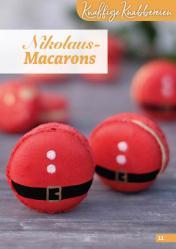 Rezept - Nikolaus-Macarons - Simply Backen Kekse 04/2020