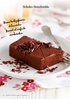 Rezept - Schoko-Semifreddo - Vegan Food & Living Kompakt – 01/2021