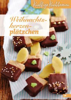 Rezept - Weihnachtskerzenplätzchen - Simply Backen Kekse 04/2020