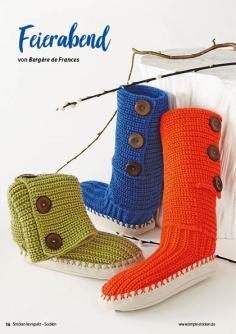 Strickanleitung - Feierabend - Simply Stricken Kompakt Sonderheft Socken 02/2021