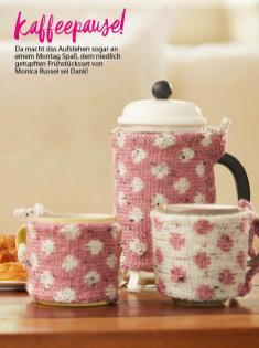 Strickanleitung - Kaffeepause! - Best of Simply Stricken Home-Deko 01/2021