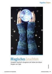 Strickanleitung - Magisches Leuchten - Fantastische Strickideen Sonderheft 01/2021