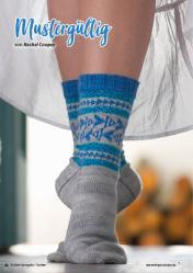 Strickanleitung - Mustergültig - Simply Stricken Kompakt Sonderheft Socken 02/2021