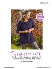 Strickanleitung - Tweed ganz zart - Simply Stricken Sonderheft Best of Pullover & Shirts 02/2020