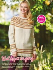 Strickanleitung - Waldspaziergang - Simply Stricken Sonderheft Best of Pullover & Shirts 02/2020