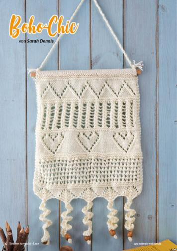 Strickanleitung - Boho-Chic - Simply Stricken Kompakt Special Lacemuster 02/2021