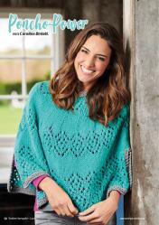 Strickanleitung - Poncho-Power - Simply Stricken Kompakt Special Lacemuster 02/2021