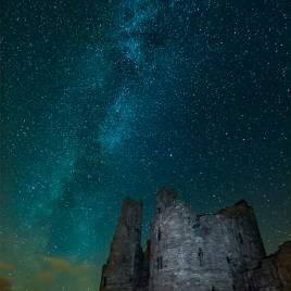 Dunstanburgh Milky Way