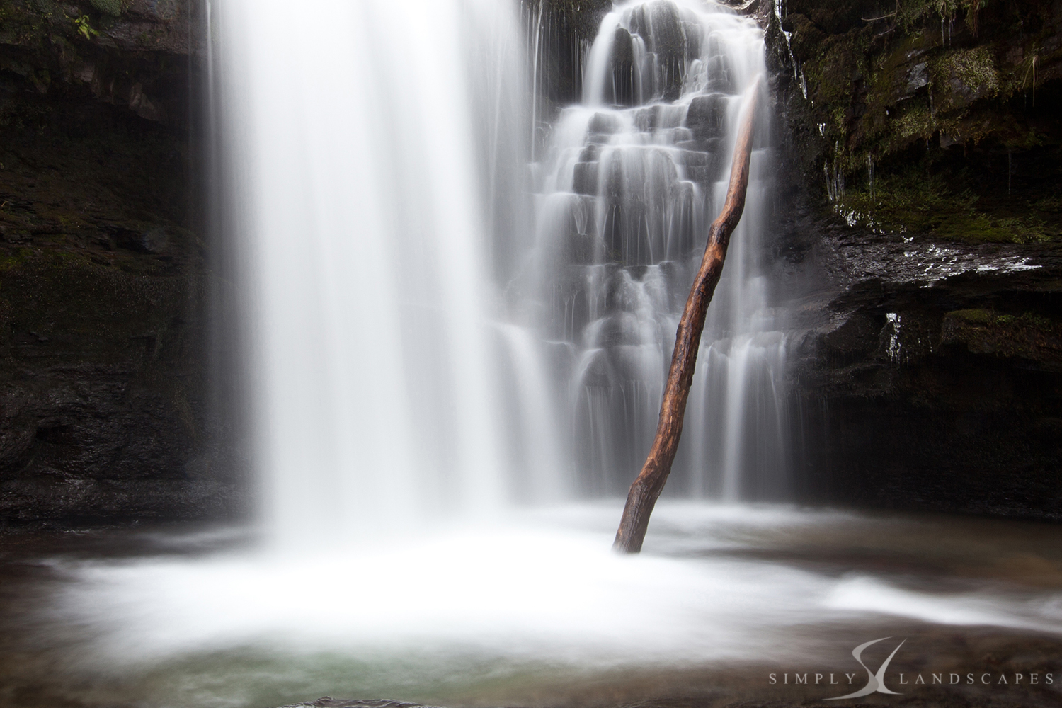 Waterfall walk - Brecon beacons - Wales