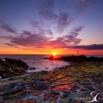 Bude Harbour Sunset