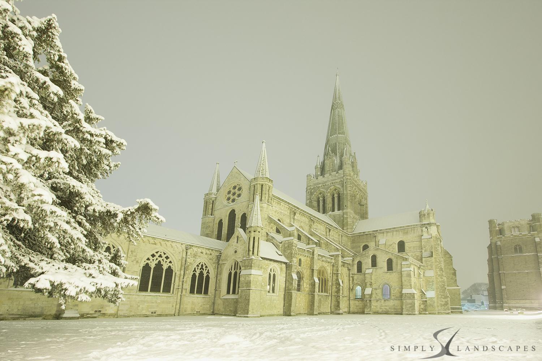 Chichester in snow