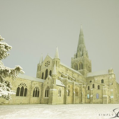 Chichester in snow