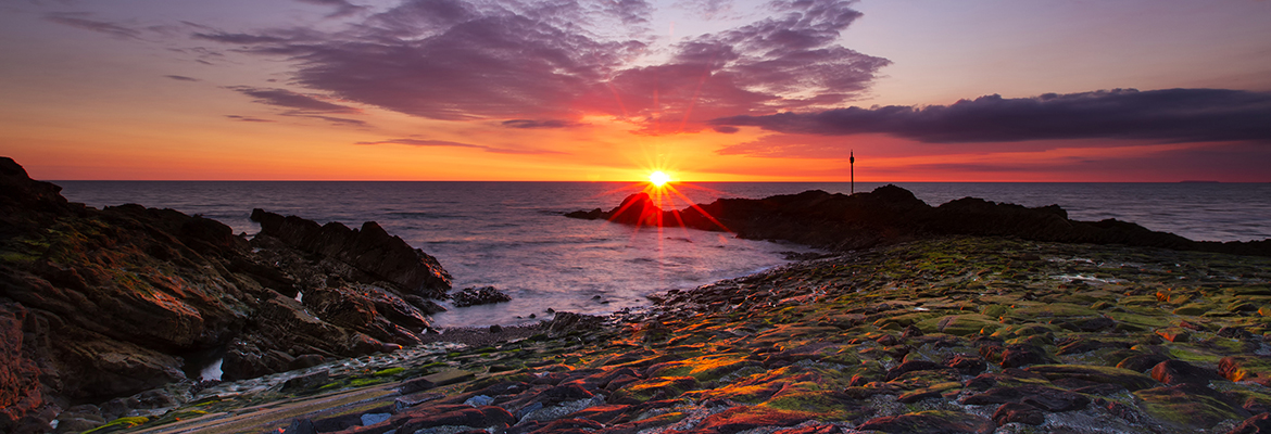 Bude Harbour Sunset 4985