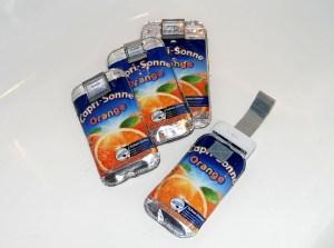 Sleeve Capri Orange