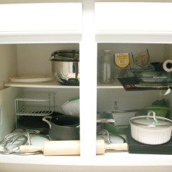 How To Arrange Pots And Pans In Kitchen Mobile Home Cabinets Discount Organizing Simply Nicole