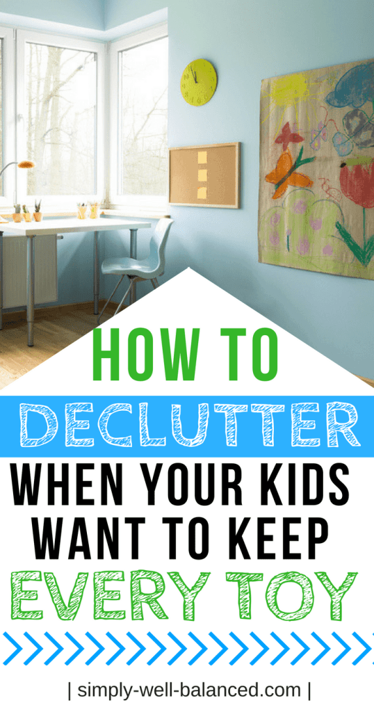 You're ready to simplify, declutter and get organized but also feel overwhelmed about where to start. Minimalism with kids is possible and this article shares the 5 steps you need to get started. Learn practical tips to declutter children's toys and clothes in order to create a simple home that is clutter free. When their play room is organized children will be happy and calm and play independently. #momhacks #minimalism #declutter