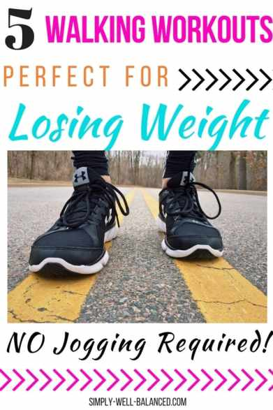 A round-up of the the best walking workouts for weight loss. No jogging is required to start improving your health and losing weight with these plans. Multiple workouts for beginner to advance. simply-well-balanced.com