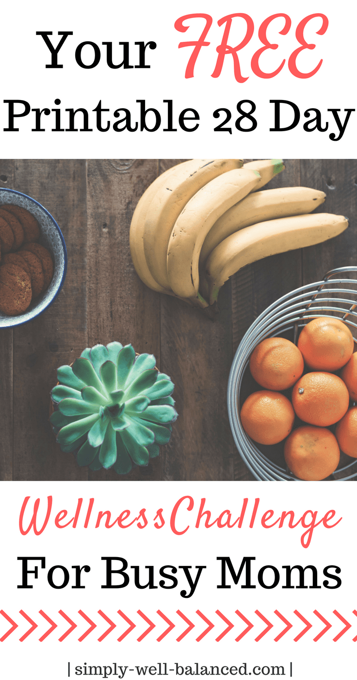 28 days to improved health and happiness for busy moms|Self Improvement | Family Challenge |tips for working moms| Simply-Well-Balanced |Wellness Challenge