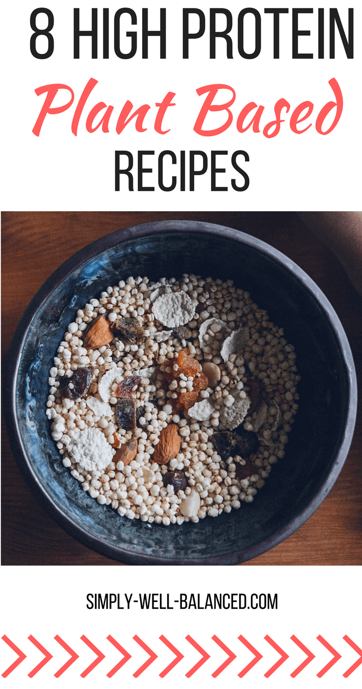 Recipes for plant based proteins |plant based diet | high protein plants | high protein vegan recipes | high protein vegetarian recipes| plant based protein