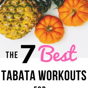 20 Minute Tabata Workouts