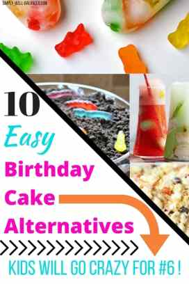 Ideas For Super Easy Birthday Cake Alternatives