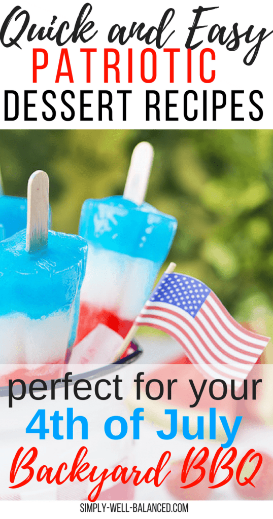 Hosting a 4th of July party or heading to a Memorial Day BBQ? Then you will definitely want to check out these super easy no bake patriotic dessert recipes that make party prep a breeze. No Martha Stewart skills required here! #4thofjuly #memorialday #patriotic