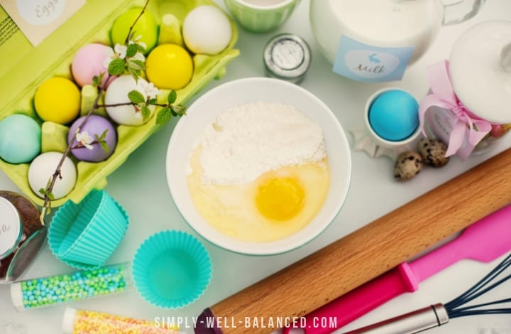 Easter cake mix