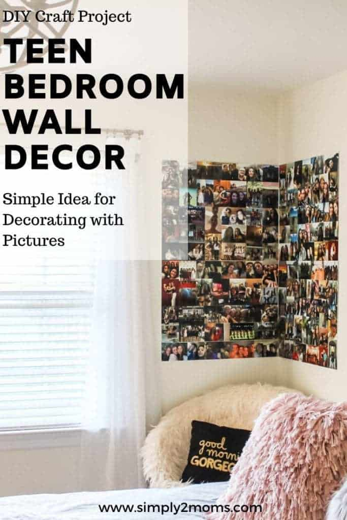 diy poster board photo collage
