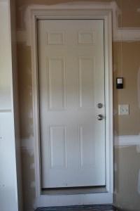 Garage Project: Garage Entryway Door  Simply Being Abby