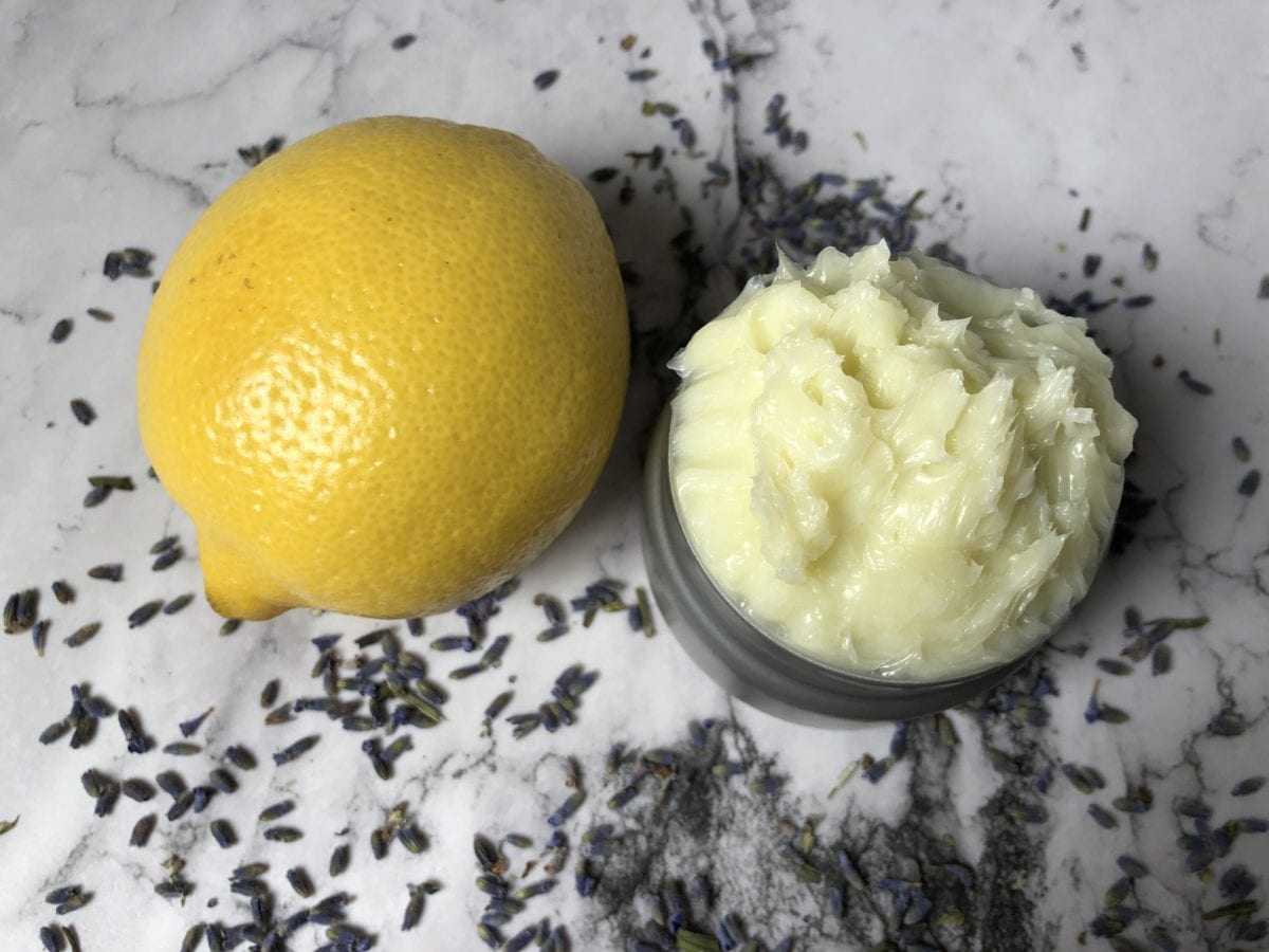 Lemon Lavender Body Butter Recipe w: CBD