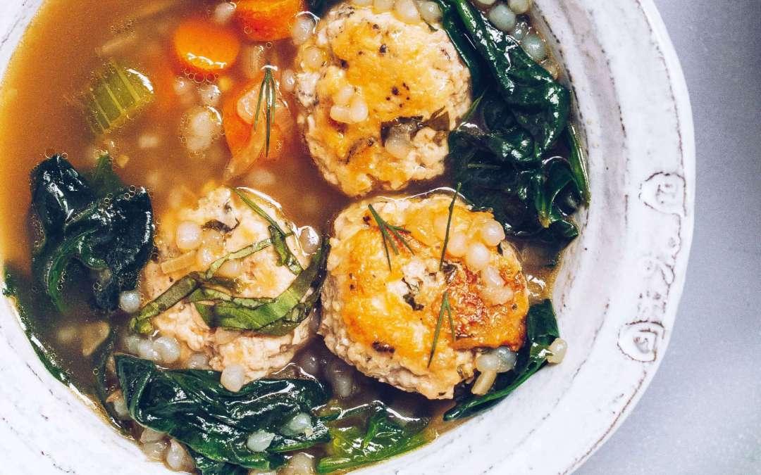 AIP Chicken Florentine Bone Broth Soup