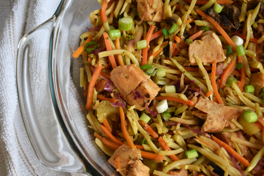 AIP Chicken Chow Mein