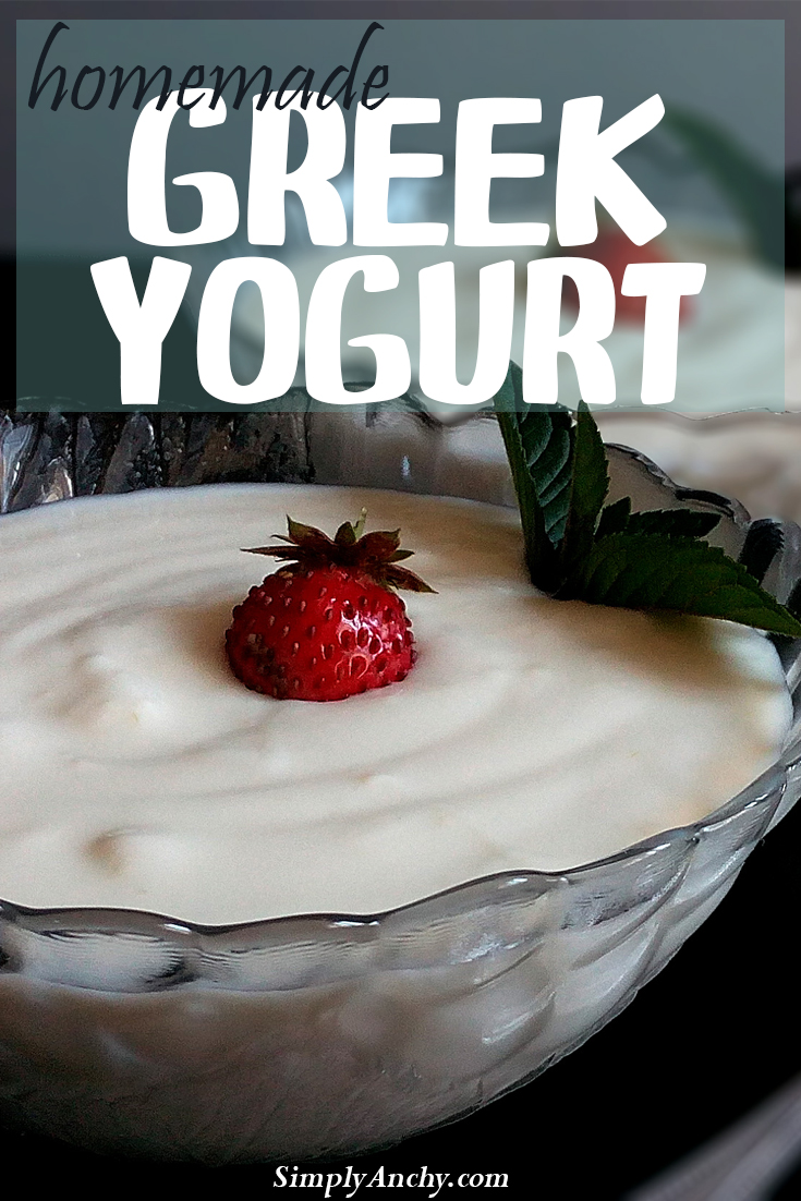 Homemade Greek Yogurt - Did you know that making your own yogurt is so easy to do? And it is much healthier than the store-bought one. Check it out!