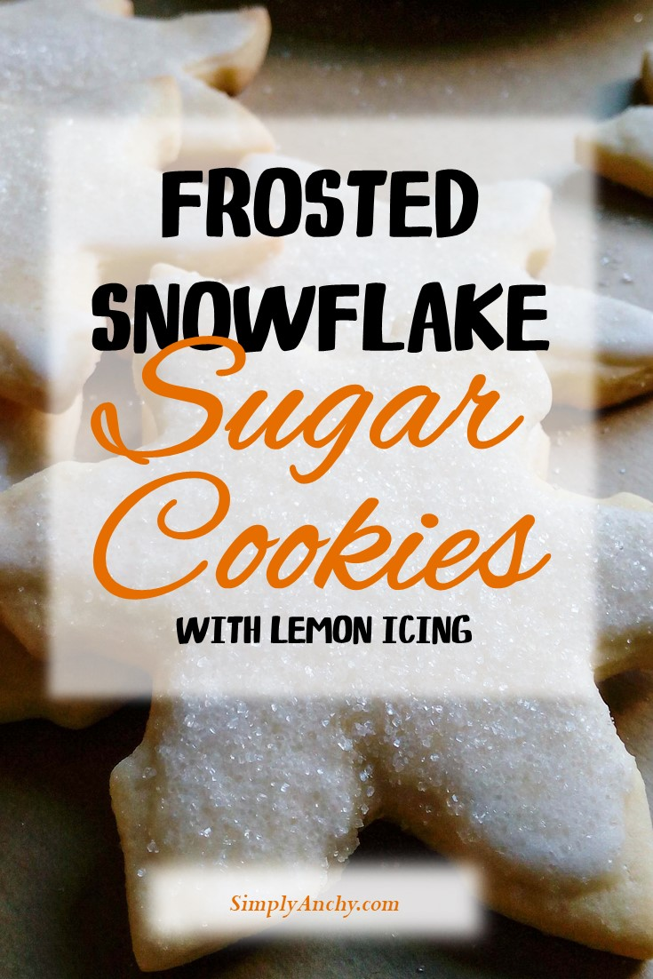 I always struggled with sugar cookies because they were losing their shape while baking. But not anymore! After I figured out this recipe, the sugar cookies keep their shape, and are perfectly soft and chewy. You can also decorate them anyway you like. Try this recipe now!   #bestsugarcookies #sugarcookies #sugarcookiesrecipe #snowflakecookies #lemonfrosting   simplyanchy.com