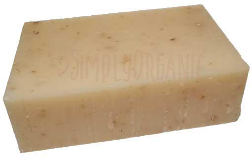 Shea Honey Oatmeal - Unscented Organic Bar Soap