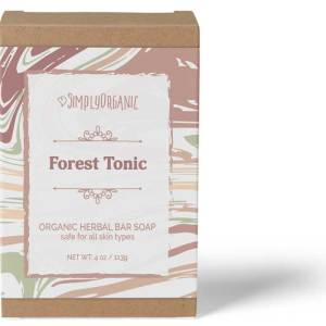 Forest Tonic - Scented Organic Bar Soap