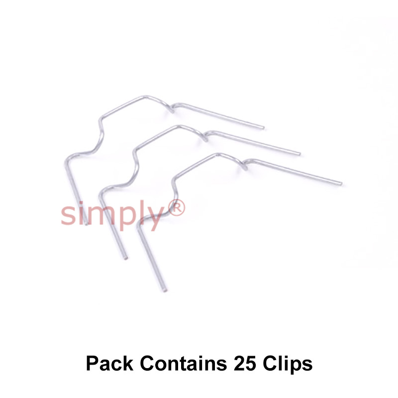 Greenhouse Parts: Greenhouse Wire Clips, Spring Wires